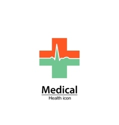 Medical symbol health icon vector
