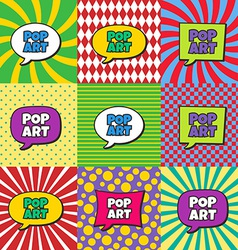Pop art vector