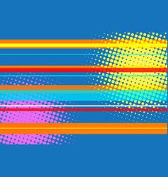 pop art modern multicolor halftone background vector image