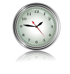 wall clock for you design vector image vector image