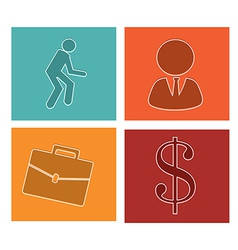 Business icons-set 2 vector