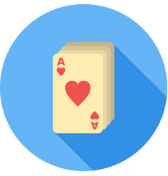 deck of cards vector image vector image