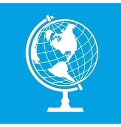 New earth globe vector