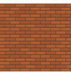 vector seamless brick wall vector image