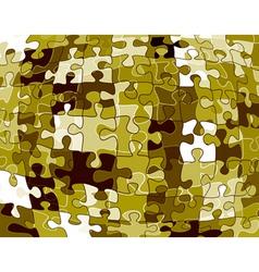 jigsaw pattern vector image