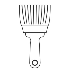 Paint brush icon tool design graphic vector