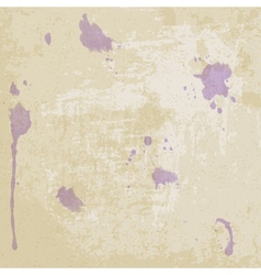 Old paper texture with blots - vector image