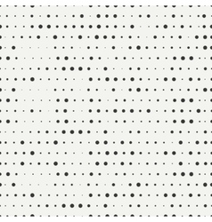 Polka dot Geometric monochrome abstract hipster vector image vector image