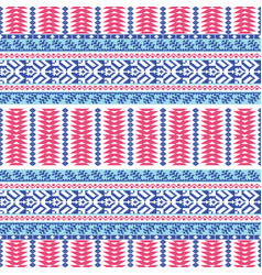 textile pattern vector image vector image