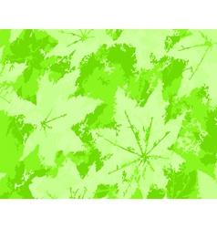leaf grunge vector image