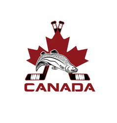 Symbols of canada design template vector