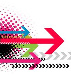 Contemporary art vector