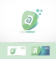 Small letter a logo vector