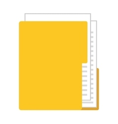 Folder isolated icon design vector