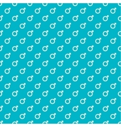 Repeating geometric background with sign of vector