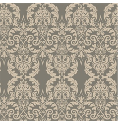 Vintage damask ornament pattern vector