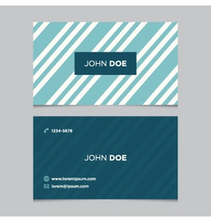 Business card pattern blue 03 vector