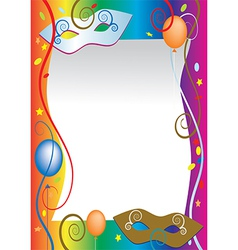Carnival background vector image