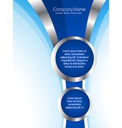 Creative company brochure design vector