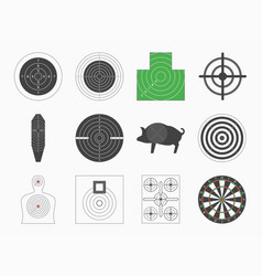 Different types board target set vector