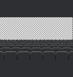 Rows of cinema vector