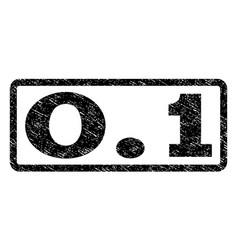 01 watermark stamp vector image vector image