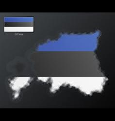 Estonia design vector