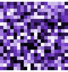 Abstract violet pixel background vector
