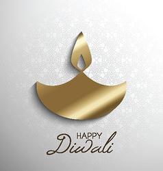 happy diwali light background 2109 vector image vector image