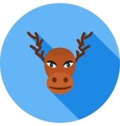 Moose deer vector