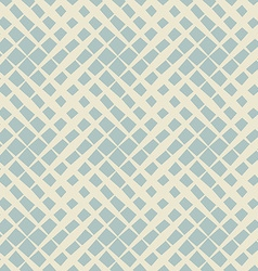 Seamless pattern from diagonal lines Striped grid vector image
