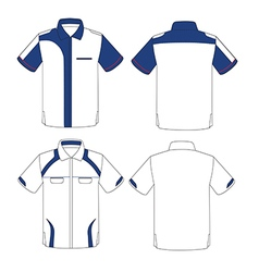 uniform design vector image