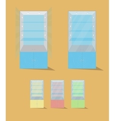 Display case vector
