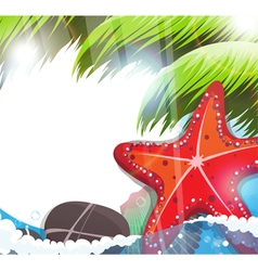 Tropical Sea Life vector image vector image