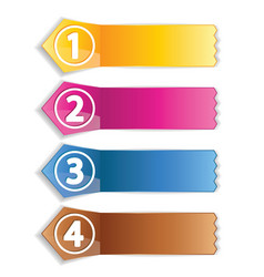 Color labels vector
