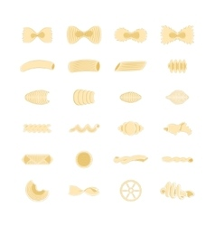 Hand Drawn Pasta Collection vector image