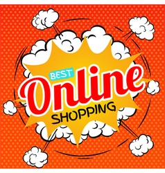 Best online shopping vector