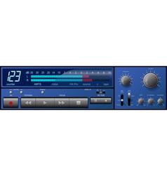 Control panel2 vector image
