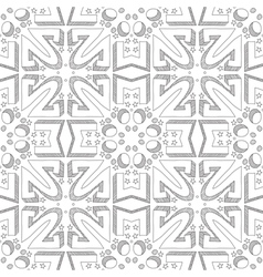 Dotted seamless pattern vector image vector image