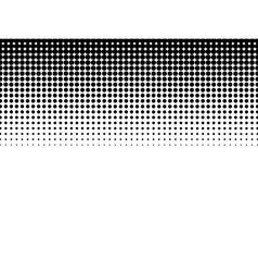 Halftone background Black-white vector image vector image