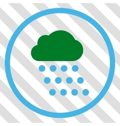 Rain Cloud Icon vector image vector image