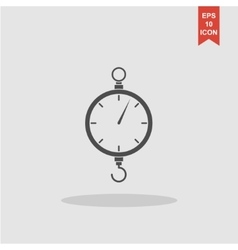 scales icon Flat design style vector image vector image