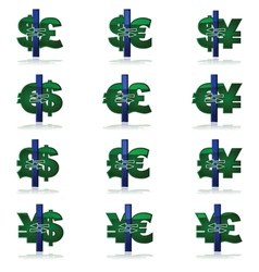 Currency conversion vector