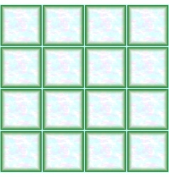 Seamless pattern marble tiles vector