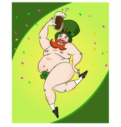 St patric party vector