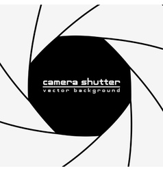camera shutter background vector image