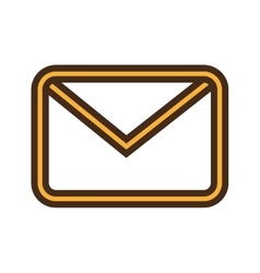 Email or mailing isolated icon design vector