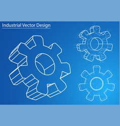 Design and manufacture of gears vector