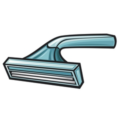 Disposable shaving razor vector