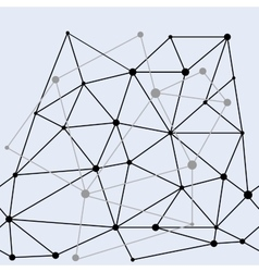 Network double seamless pattern vector